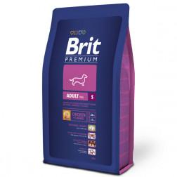 Корм для собак Brit PREMIUM ADULT small, 3кг