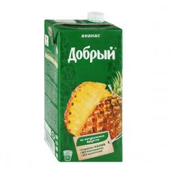 Нектар Добрый ананасовый, 2л.