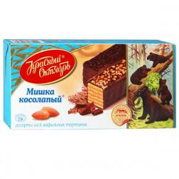 Торт вафельный Красный октябрь «Мишка косолапый», 250гр.