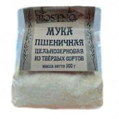 Мука пшеничная цельнозерновая из твердых сортов, 500 гр.