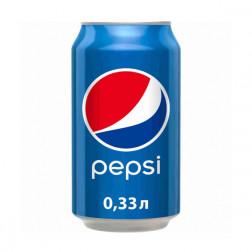 Напиток Pepsi-Cola газ 0,33л.