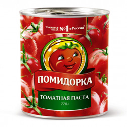 Томатная паста Помидорка, 770гр.