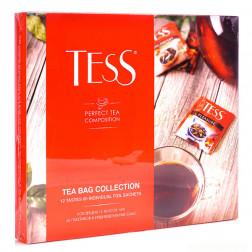 Набор чая TESS ассорти, 101 гр/12 сортов