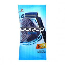 Бритвенный станок Dorco, 6шт