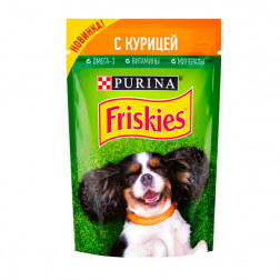 Корм для собак Friskies с курицей, 85 гр.