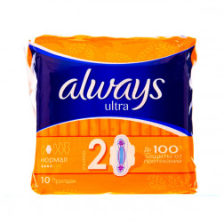 Прокладки гигиенические Always Ultra(2), 10шт