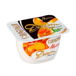 Десерт творожный «Персик», 125 гр
