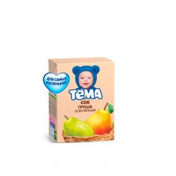 Сок детский ТЕМА груша, 0,2л.