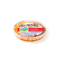 Сельдь пресервы филе-кусочки в масле с пряностями «Мехико» 175 г.