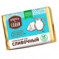 Сыр плавленый Продукты из Елани Сливочный, 90гр.