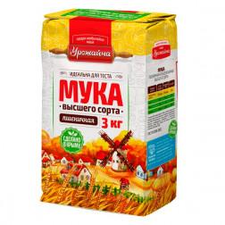 Мука пшеничная Урожайная  высший сорт, 3кг.