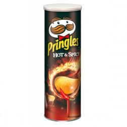 Картофельные чипсы Pringles HOT & SPICY (острый перец), 165 гр.