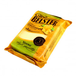 Сыр «Бельстер Янг» тверд. 40%, 300 гр.