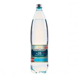 Вода минеральная Нагутская 26 (Заповедник Здоровья) газированная лечебная 1,5л.