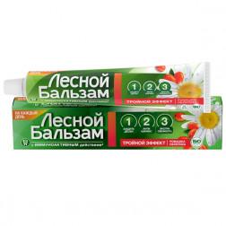 Зубная паста Лесной Бальзам ромашка/облепиха, 75 мл.