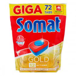 Таблетки для посудомоечных машин Somat «GOLD», 72 шт