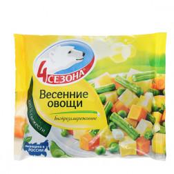 Смесь овощная «4 сезона» Весенние овощи 400гр.