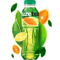 Холодный чай FuzeTea зеленый «Цитрус», 1,5 л.
