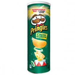 Картофельные чипсы Pringles Cheesy & Onion (сыр/лук), 165 гр.