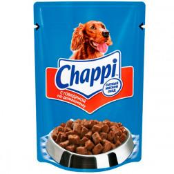 Корм для собак Chappi говядина, 85гр