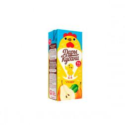 Сок детский Дары Кубани груша, 0,2л.