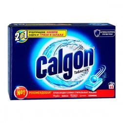 Calgon 2 в 1 таблетки для стиральных машин, 12 шт