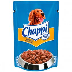 Корм для собак Chappi мясное изобилие, 85гр