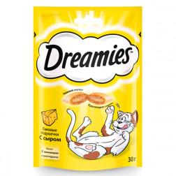 Корм для кошек Dreamies сыр, 60гр