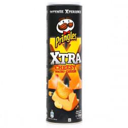 Картофельные чипсы Pringles Cheesy nacho cheese (сыр начо), 150 гр.