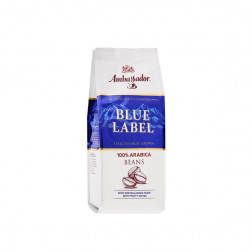 Кофе Ambassador Blue Label в зернах, 200гр.