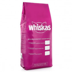 Сухой корм для кошек Whiskas курица/индейка 5 кг