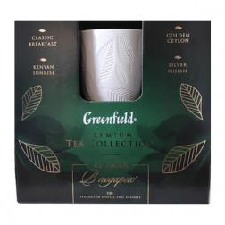 Набор чая Greenfield «Ассорти фруктовое» 100пак. с керамической кружкой