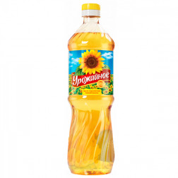 Масло Урожайное рафинированное, 0,9л.