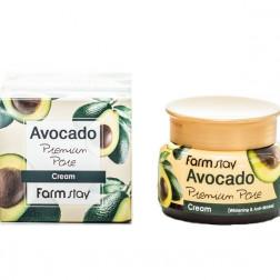 Увлажняющий крем с экстрактом авокадо Farm Stay, 100 мл.