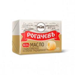 Масло сливочное Рогачев 82,5% , 160 гр