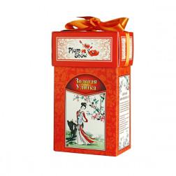 Чай Китайский черный Золотая улитка 100гр.