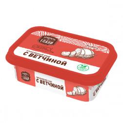 Сыр плавленый с ветчиной Продукты из Елани, 180гр.