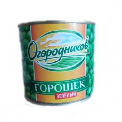 Горошек Огородников зеленый  нежный 400 гр.