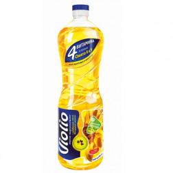 Масло подсолнечное Violio раф. с добавлением виноградного 1л.