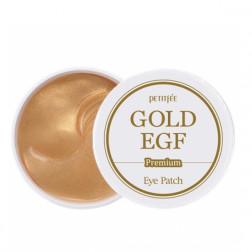 Гидро-гелевые патчи для век с золотом PETITFEE Gold Hydrogel, 60 шт.