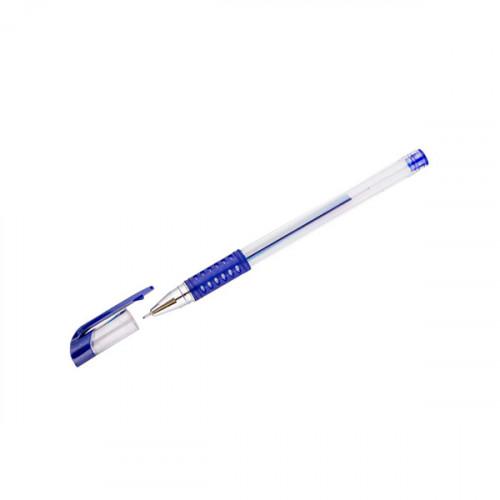 ручка гелевая синяя