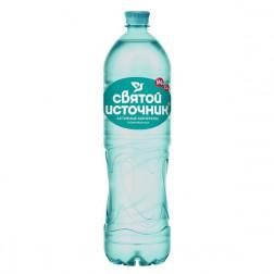 Вода питьевая Святой Источник Активные минералы газ 1,5л.