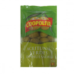 Оливки COOPOLIVA без косточкой, 200гр.