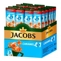 Напиток кофейный Jacobs 4в1 Карамель 24пак.