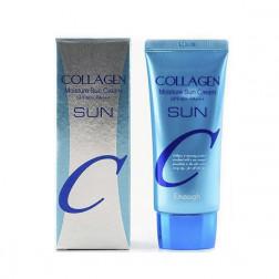 Увлажняющий солнцезащитный крем с коллагеном Enough, 50 гр.