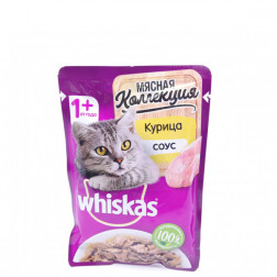 Корм для кошек Whiskas курица соус 75 гр.