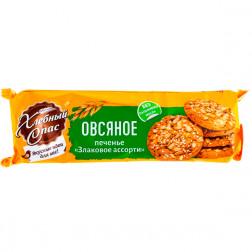 Печенье Овсяное «Злаковое ассорти», 250 гр