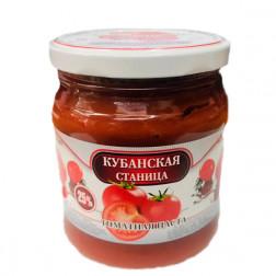 Томатная паста Кубанская станица, 500 гр.