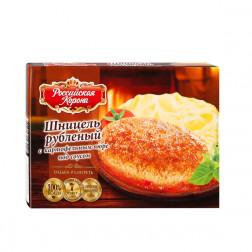 Шницель рубленый с картофельным пюре под соусом, 300гр.