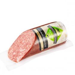 Колбаса «Заволжский» Салями Финская полукопчёная срез 0,340 кг.